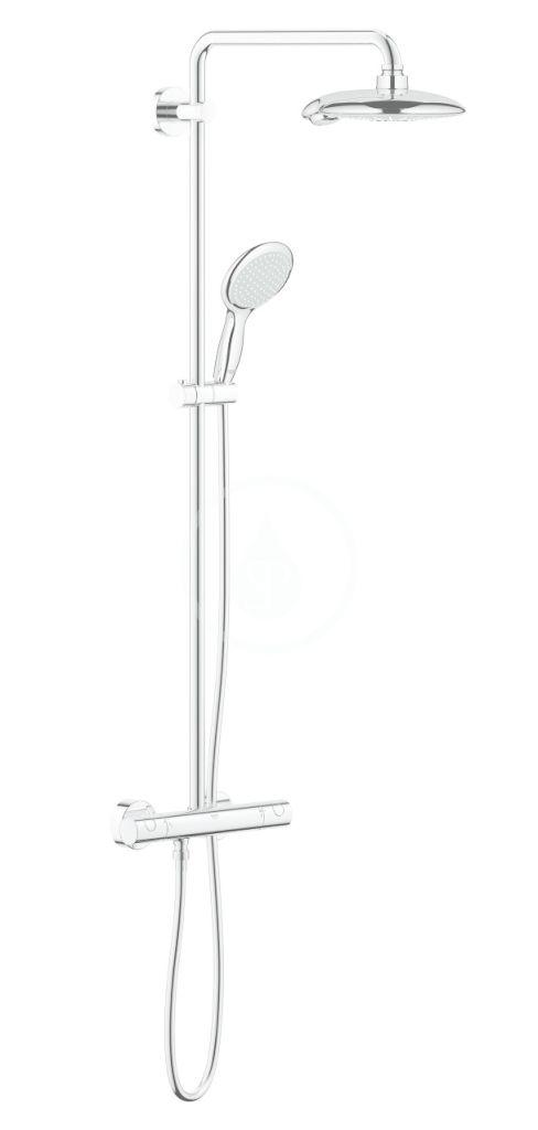 GROHE Euphoria Sprchový set Power&Soul System s termostatem, 190 mm, chrom 26186000