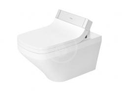DURAVIT - DuraStyle Závěsné WC pro SensoWash, Rimless, s HygieneGlaze, alpská bílá (2542592000)