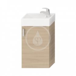 JIKA - Petit Skříňka s umývátkem, 386x221x585 mm, třešeň (H4535111753081)