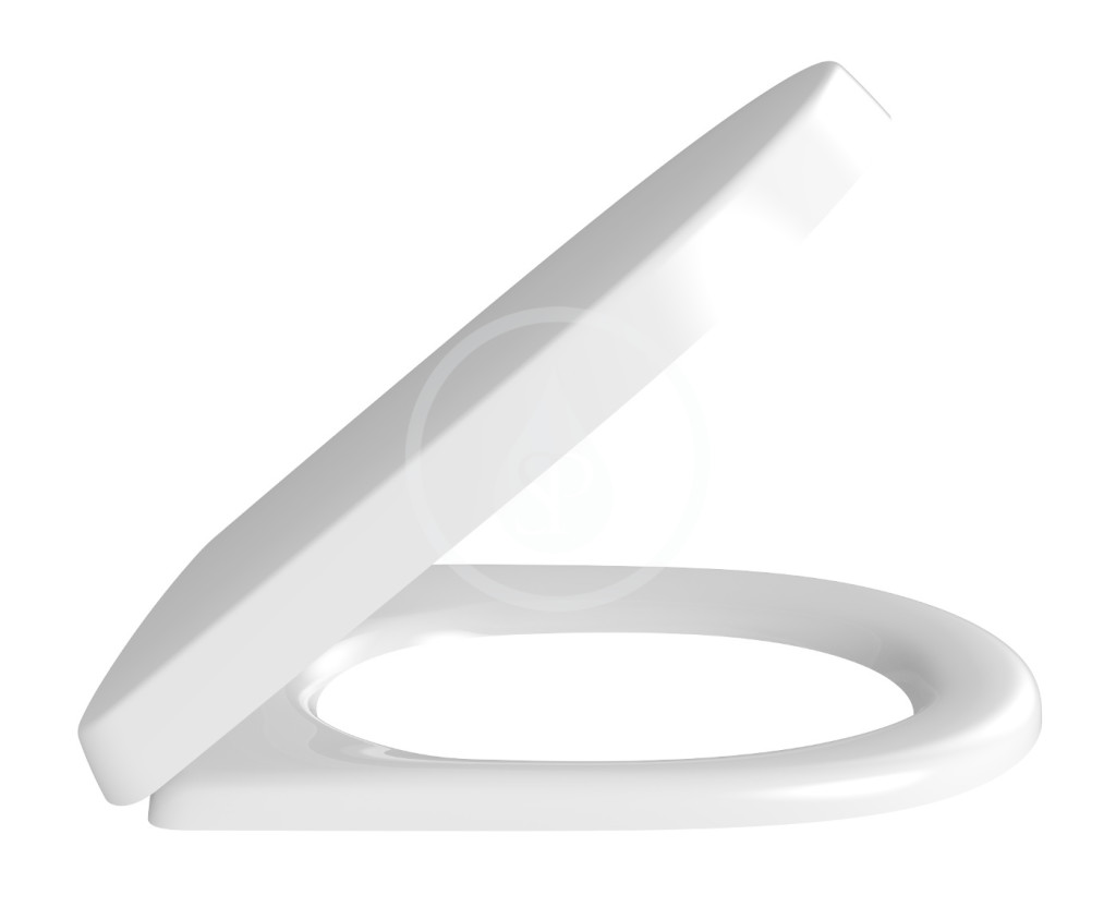 VILLEROY & BOCH O.novo WC sedátko, SoftClosing, alpská bílá 9M406101