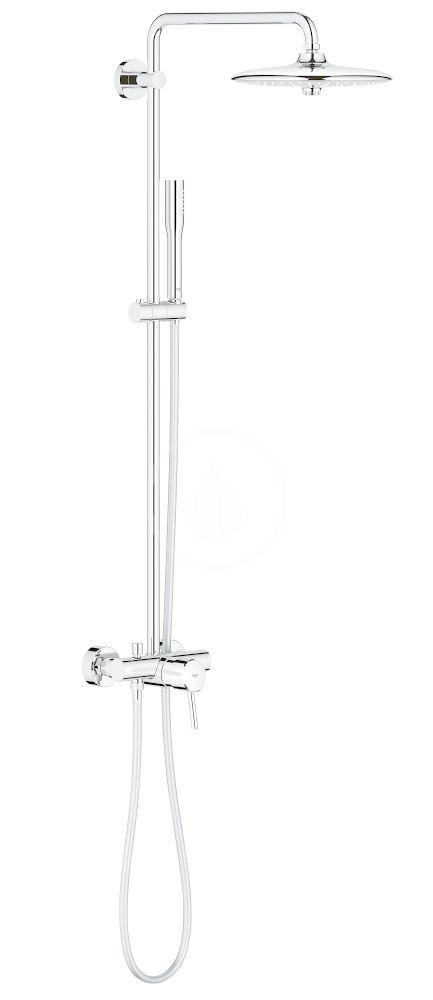 GROHE Euphoria Concetto Sprchový systém 260 s pákovou nástěnnou baterií, chrom 23061002