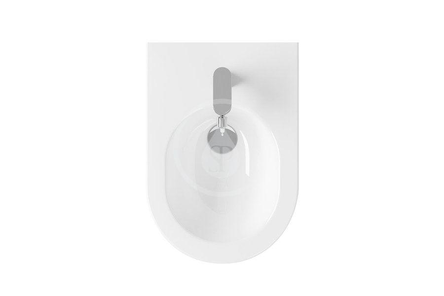 RAVAK - Chrome Závěsný bidet Uni, bílá (X01517)