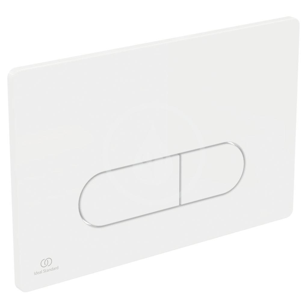 IDEAL STANDARD - ProSys Set předstěnové instalace, klozetu a sedátka  Dolomite Quarzo, tlačítka Oleas M1, SoftClose, bílá (ProSys80M SP112)