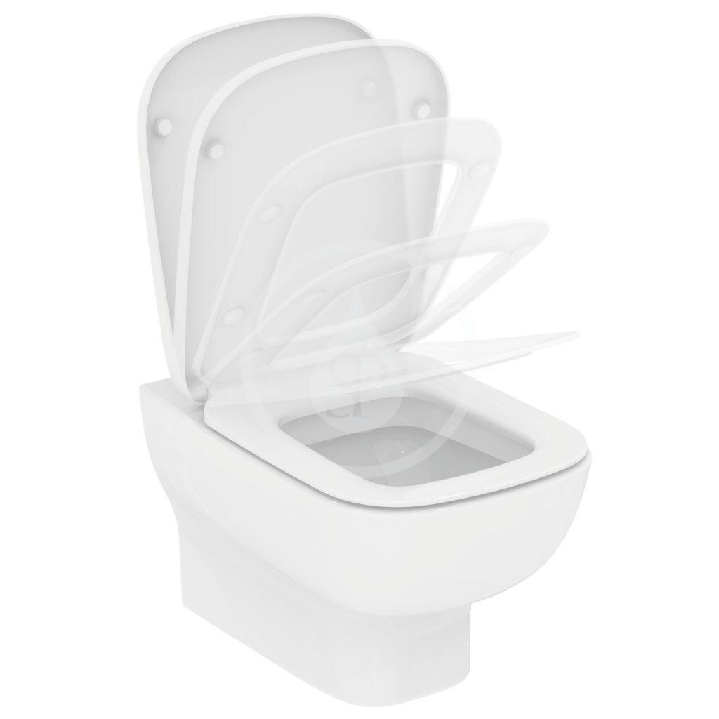IDEAL STANDARD - Esedra Závěsné WC,  bílá (T281401)