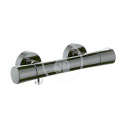 KLUDI - Zenta Termostatická sprchová baterie, černá/chrom (351008638)