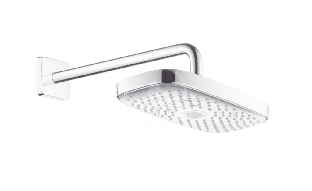 HANSGROHE Raindance Select E Hlavová sprcha 300, 2 proudy, sprchové rameno 390 mm, chrom 27385000