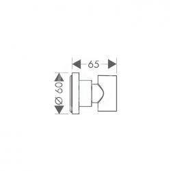 AXOR - Sprchový program Sprchový držák, chrom (39525000), fotografie 2/1