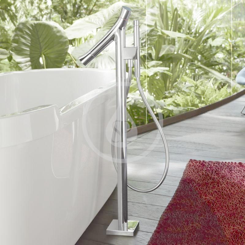 AXOR - Starck Organic Vanová baterie na podlahu, chrom (12016000)