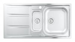 GROHE - Dřezy Dřez K400 s automatickým odtokem, 970x500 mm (31567SD0)