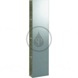 GEBERIT - iCon Zrcadlová skřňka 280x1200x140 mm, platinová lesklá (840030000)