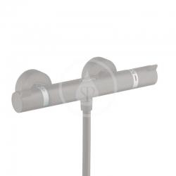 HANSGROHE - Ecostat Comfort Termostatická sprchová baterie, kartáčovaný černý chrom (13116340)