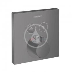 HANSGROHE - Shower Select Termostatická baterie pod omítku pro 2 spotřebiče, matná černá (15763670)