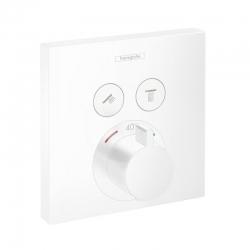 HANSGROHE - Shower Select Termostatická baterie pod omítku pro 2 spotřebiče, matná bílá (15763700)