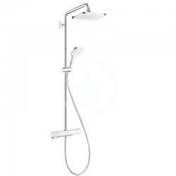 HANSGROHE - Croma Sprchový set Showerpipe s termostatem, 1jet, EcoSmart, chrom (27660000)