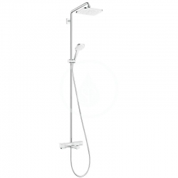HANSGROHE - Croma Vanový set Showerpipe s termostatem, 1jet, chrom (27687000)