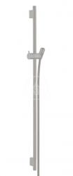 HANSGROHE - Unica'S Sprchová tyč 900 mm se sprchovou hadicí, kartáčovaný černý chrom (28631340)