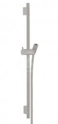 HANSGROHE - Unica'S Sprchová tyč 650 mm se sprchovou hadicí, kartáčovaný černý chrom (28632340)