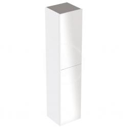 GEBERIT - Acanto Skříňka vysoká 1730x380 mm, dvoje dvířka, leská bílá (500.619.01.2)