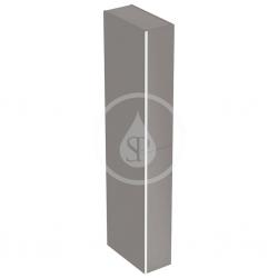 GEBERIT - Acanto Skříňka vysoká 1730x220 mm, dvě zásuvky, černá (500.638.16.1)