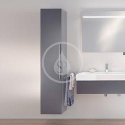 GEBERIT - iCon Skříňka vysoká 1800x360 mm, lávová (841001000), fotografie 4/2