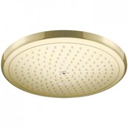 HANSGROHE - Croma Hlavová sprcha 280, EcoSmart, leštěný vzhled zlata (26221990)