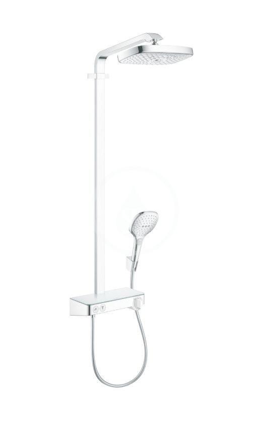 HANSGROHE Raindance Select E Sprchový set s termostatem ShowerTablet, 300 mm, 2 proudy, chrom 27126000