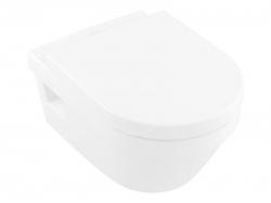 VILLEROY & BOCH - Architectura Závěsné WC se sedátkem SoftClosing, DirectFlush, alpská bílá (5684HR01)