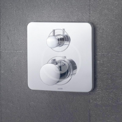 AXOR - Citterio M Vanová termostatická podomítková baterie, chrom (34725000), fotografie 2/3