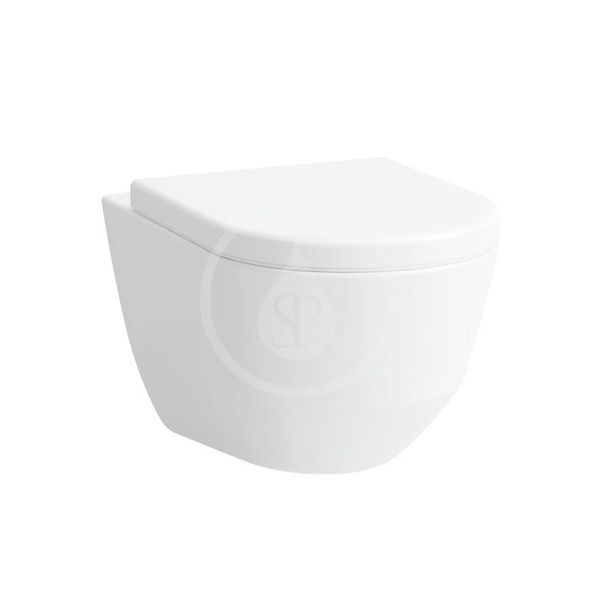Laufen Pro Závěsné WC, 530x360 mm, s LCC, bílá H8209564000001
