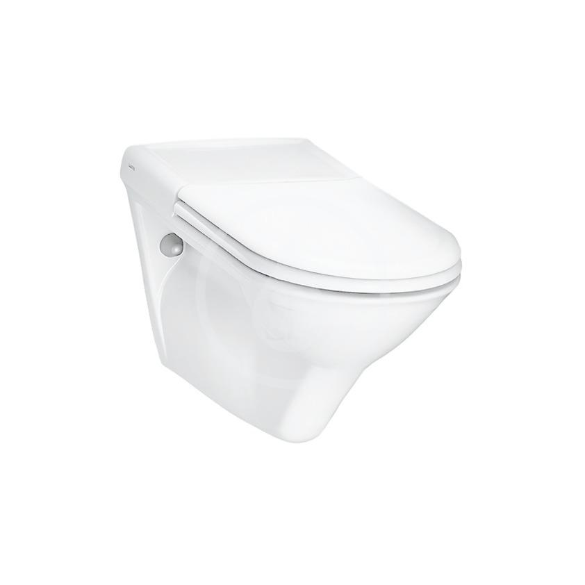 Laufen Libertyline Závěsné WC, 700x360 mm, bílá H8214700000001