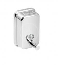 SANELA - Nerezové doplňky Dávkovač tekutého mýdla, obsah 1,2 l, lesklý nerez (SLZN 05)