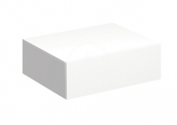GEBERIT - Xeno 2 Boční skříňka 580x200 mm se zásuvkou, lesklá bílá (500.507.01.1)
