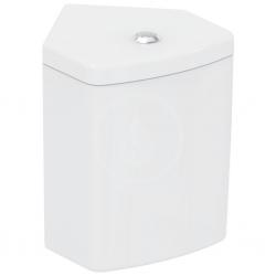 IDEAL STANDARD - Connect Space Splachovací nádrž do rohu, spodní napouštění, bílá (E119101)