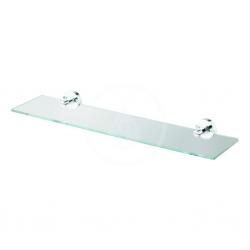 IDEAL STANDARD - IOM Skleněná polička 520x138x48 mm, čiré sklo, chrom (A9125AA)