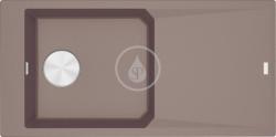 FRANKE - FX Fragranitový dřez FXG 611-100, 1000x500 mm, tmavě hnědá (114.0540.820)