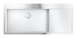 Dřezy Dřez K1000 s automatickým odtokem, 1160x520 mm (31581SD0) - GROHE