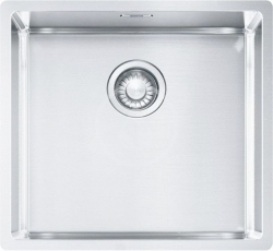 FRANKE - Box Dřez BXX 210/110-45, 490x450 mm, nerez (127.0395.014)