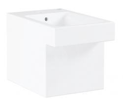GROHE - Cube Ceramic Stojící bidet s přepadem, PureGuard, alpská bílá (3948700H)