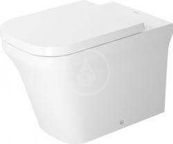 DURAVIT - P3 Comforts Stojící WC, rimless, HygieneGlaze, bílá (2166092000)