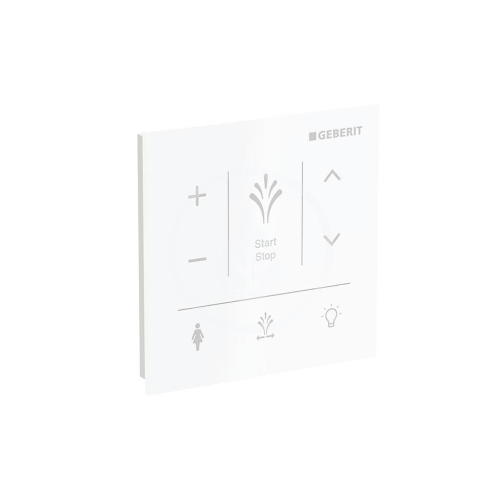 GEBERIT AquaClean Ovládací panel pro elektronický bidet Sela, bílá 147.041.SI.1