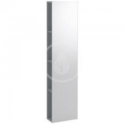 GEBERIT - iCon Regál se zrcadlem 280x1200x140 mm, lávová (841029000)