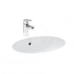 Laufen - Birova Vestavné umyvadlo, 530x405 mm, bílá (H8111910000001)