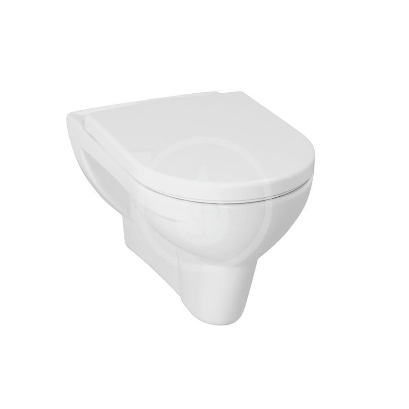 Laufen Pro Závěsné WC, 560x360 mm, ploché splachování, bílá H8209510000001