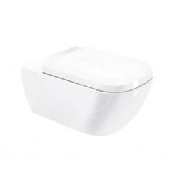 DURAVIT - Happy D.2 Závěsné WC, s WonderGliss, bílá (22210900001)
