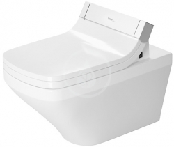 DURAVIT - DuraStyle Závěsné WC pro SensoWash, s WonderGliss, bílá (25425900001)