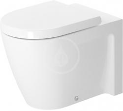 DURAVIT - Starck 2 Stojící klozet, 370 mm x 570 mm, bílý - klozet, s WonderGliss (21280900001)