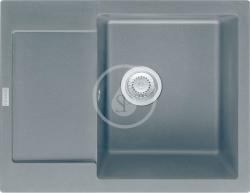 FRANKE - Maris Fragranitový dřez MRG 611-62, 620x500 mm, grafit (114.0284.756)