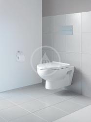 DURAVIT - DuraStyle Basic Závěsné WC, Rimless, s WonderGliss, alpská bílá (25620900001), fotografie 4/2