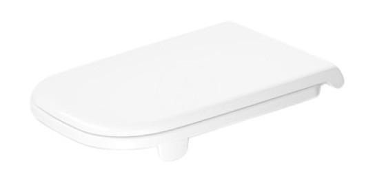 DURAVIT D-Code WC sedátko s postranním zpevněním, alpská bílá 0060410000