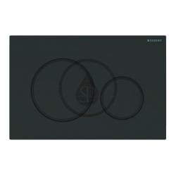 GEBERIT - Sigma20 Ovládací tlačítko pro 2 množství splachování, matná černá/černá (115.882.16.1)